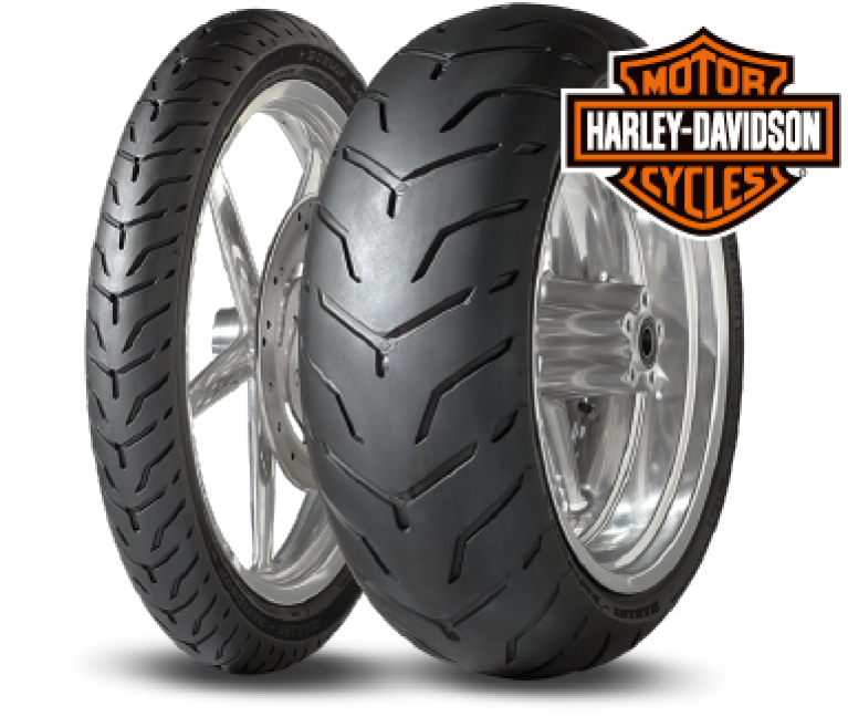 Dunlop D407/D408 tyres developed with Harley-Davidson