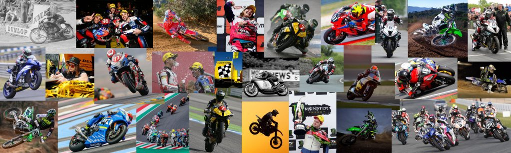 Dunlop motorcyle tyres - at the heart of racing since 1889