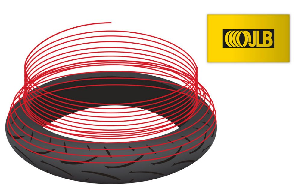 Improved stability and feedback from Dunlop's Jointless Belt Constrcution (JLB)
