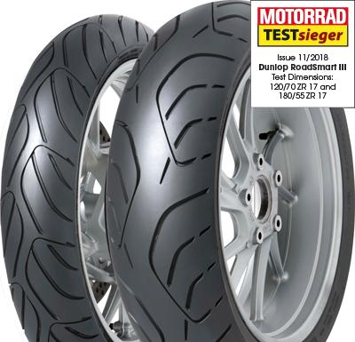 Coppia gomma pneumatici Dunlop Sportsmart MK3 120//70 ZR 17 58W 180//55 ZR 17 73W