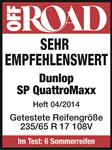Dunlop SP QuatroMaxx - Very recommendable - Off Road - 2014
