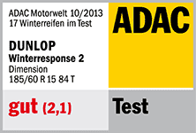 Dunlop Winter Response 2 - gut - ADAC 2013