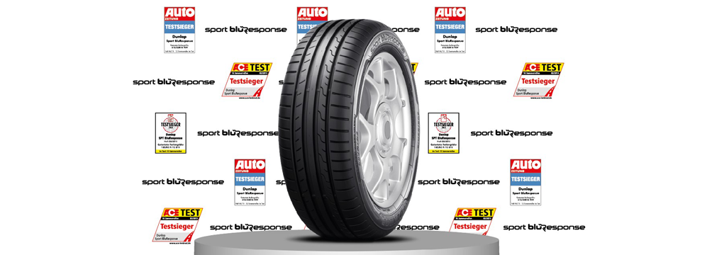 Dunlop tires are tested by independent testing bodies, magazines and auto clubs