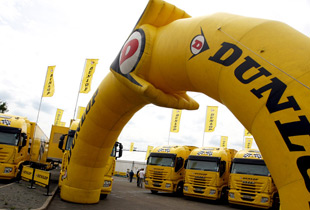 Dunlop Tires Europe is part of the Goodyear Group