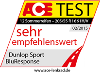Dunlop Sport BluResponse -  Very Recommendable - Auto Motor Sport - 2015