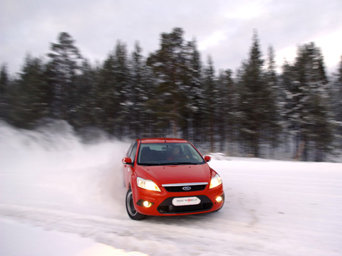 Finland's Test World specializes in winter tire and car testing