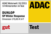 Dunlop SP Winter Response - Good - ADAC motorwelt - 2011