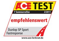 Fulda SP FastResponse - Recommended - Ace Test - 2011