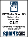 SP Winter Sport 3D - Good - Auto Bild Sportscars - 2009