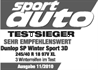 Dunlop SP WinterSport 3D - Test winner - Sport Auto - 2010