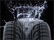 High aquaplaning resistance
