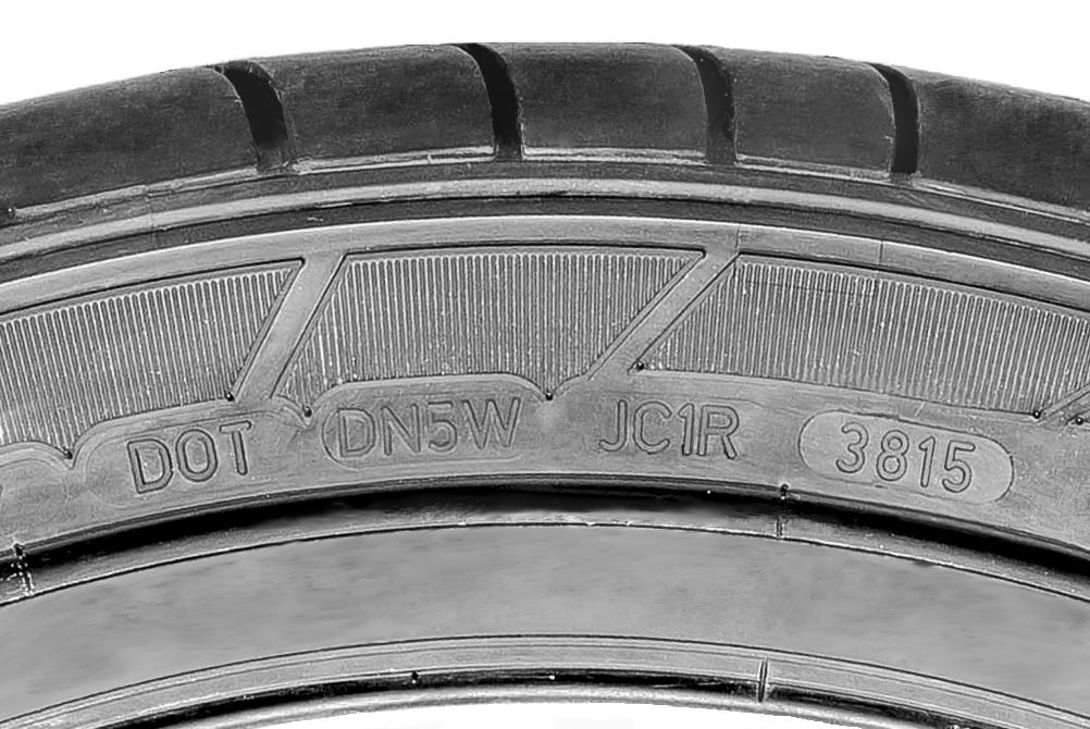 dot code tyre sidewall