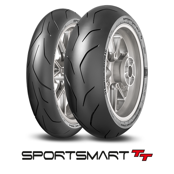 Dunlop SportSmart TT packshot and logo