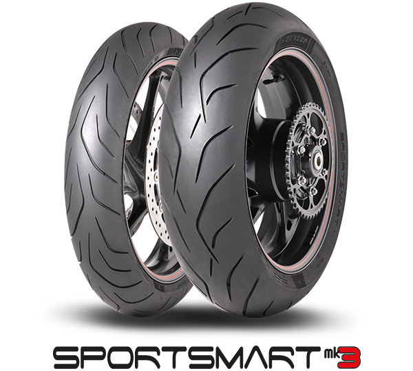 Dunlop SportSmart Mk3 packshot and logo