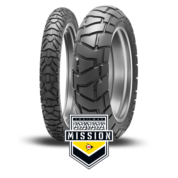 Packshot e logo Dunlop Trailmax Mission
